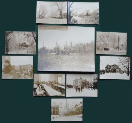 10 Rare Antique Russian German BUFA Photos Brest-Litovsk Treaty 1918